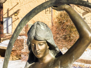 South Denver Midwives Monument office statue